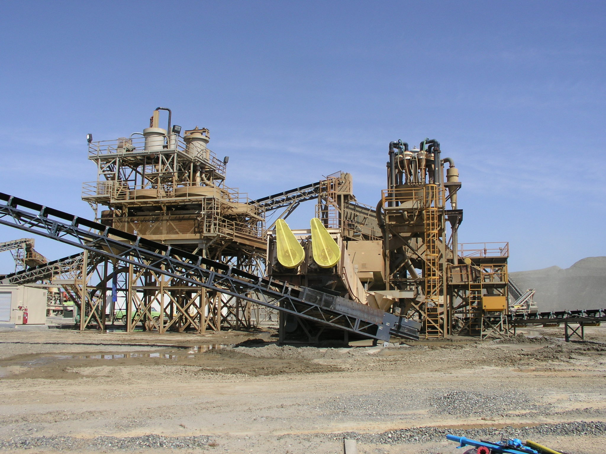Photo of aggregate equipment