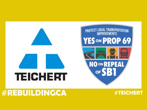 Teichert is Proud to be an Active Supporter of SB1
