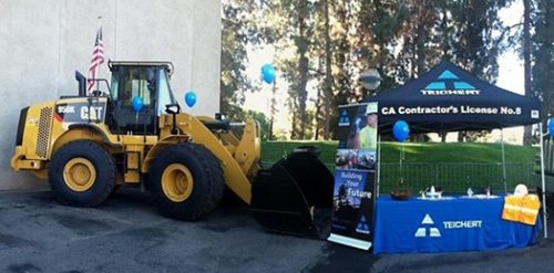 Teichert Recruiting Booth and Equipment